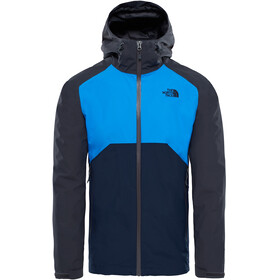 The North Face Stratos Jacket Men Asphalt Grey/Bomber Blue/Urban Navy